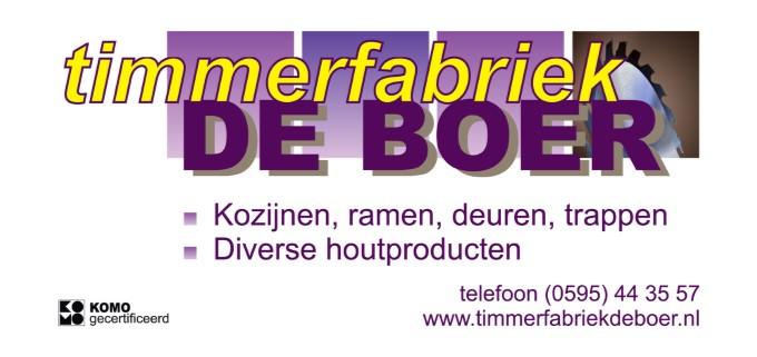 De Boer Timmerfabriek