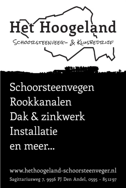 Het Hoogeland Schoorsteenveegbedrijf